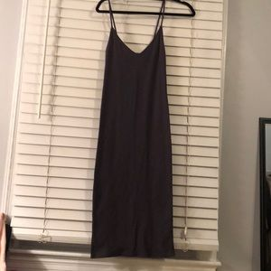 Forever 21 ribbed v-neck midi dress. NWOT.